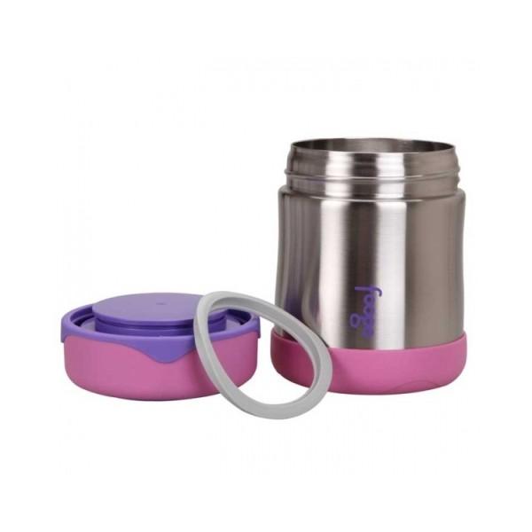 Dojčenská termoska na jedlo - ružová - BeBaby - Všetko pre Vaše detičky 20d12a0dc51