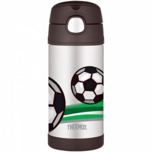 Detská termoska s slamkou - futbal - BeBaby - Všetko pre Vaše detičky 99d4b9994aa