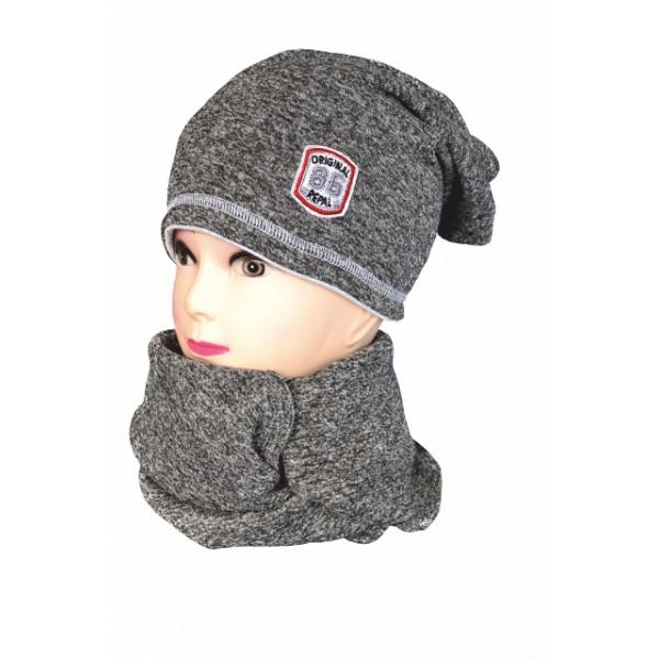 c23f1cb85 Repal detská zimná predĺžená čiapka 16 šedá - BeBaby - Všetko pre ...