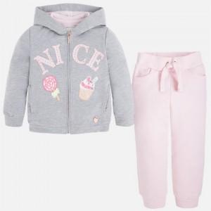 Dievčenská súprava MAYORAL šedá ružová 3805 - BeBaby - Všetko pre ... 655fb08c7c3