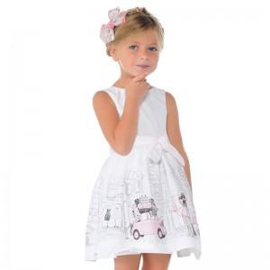 Dievčenské šaty MAYORAL 3967 - BeBaby - Všetko pre Vaše detičky 4a54896a741