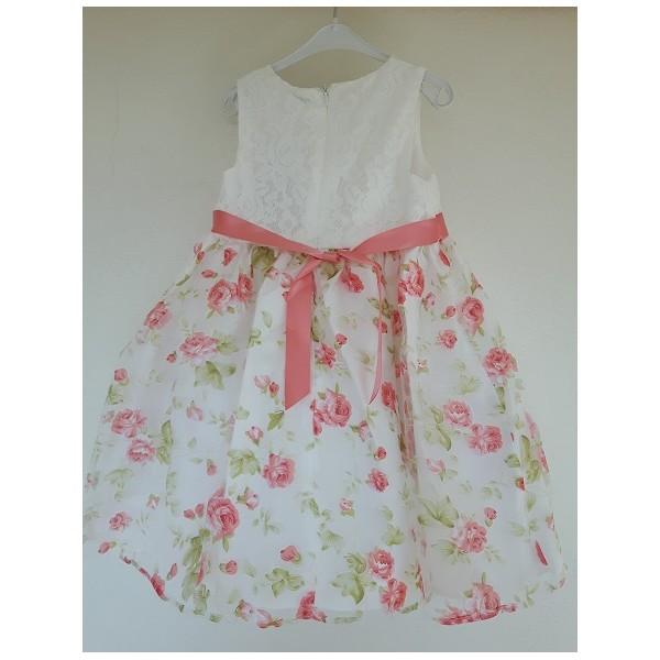 Dievčenské spoločenské šaty s kvetmi - BeBaby - Všetko pre Vaše detičky b2e78a04b6f