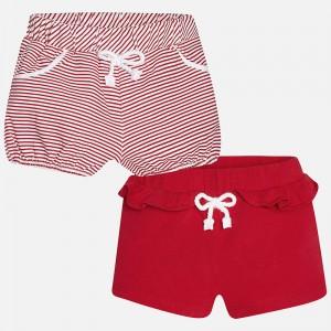Dievčenské krátke nohavice MAYORAL 1299 červené - BeBaby - Všetko ... 15dc9be8b6d