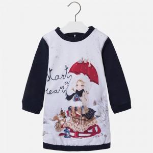 Dievčenské šaty MAYORAL 4963 - BeBaby - Všetko pre Vaše detičky cb51928d1fc