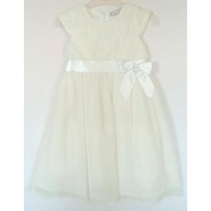 Slávnostné dievčenské šaty biele - BeBaby - Všetko pre Vaše detičky 1d64bc1835e