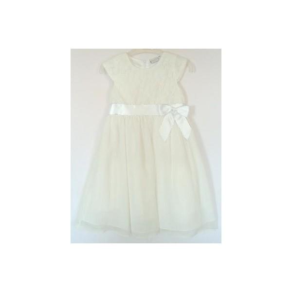Slávnostné dievčenské šaty biele - BeBaby - Všetko pre Vaše detičky 6f356d6e7da
