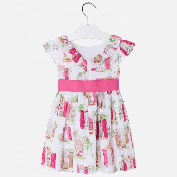 539c0484d481 Dievčenské šaty MAYORAL 3940 fuxia - BeBaby - Všetko pre Vaše detičky