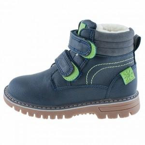 b87cb09060 Chlapčenské zimné topánky WOJTYLKO tmavomodré - BeBaby - Všetko pre ...