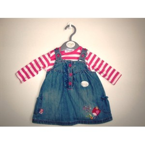Riflové šaty + body - BeBaby - Všetko pre Vaše detičky 39d4c17cd93