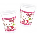 Pohár  HELLO KITTY  200ml , 10ks